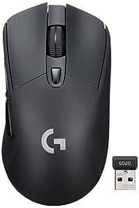 【Amazon.co.jp限定】ワイヤレス ゲーミングマウス ロジクール G703d エルゴノミクスデザイン ワイヤレス充電対応 LIGHTSPEED Logicool G ステッカー付き