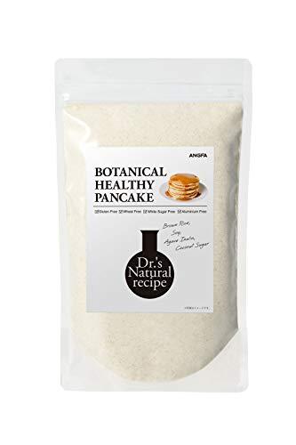 アンファー (ANGFA) ボタニカルヘルシー パンケーキ グルテンフリー 小麦・白砂糖不使用 糖質オフ 子供の栄養[ たんぱく質 1.4倍/ オーガニック 1日分 食物繊維/合成添加物・酸化防止剤・人口甘味料フリー ドクターズナチュラルレシピ ] 400