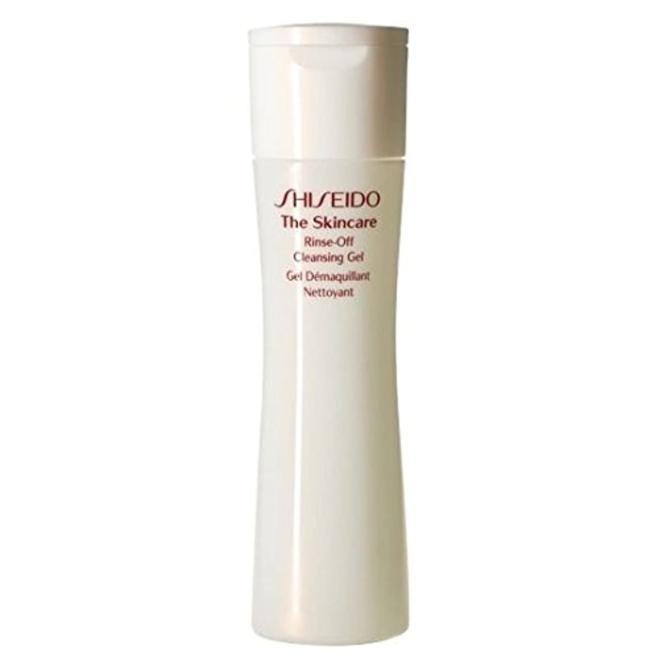 音楽家釈義外部[Shiseido] スキンケアリンスオフクレンジングジェル、200ミリリットルを資生堂 - Shiseido The Skincare Rinse-Off Cleansing Gel, 200ml [並行輸入品]
