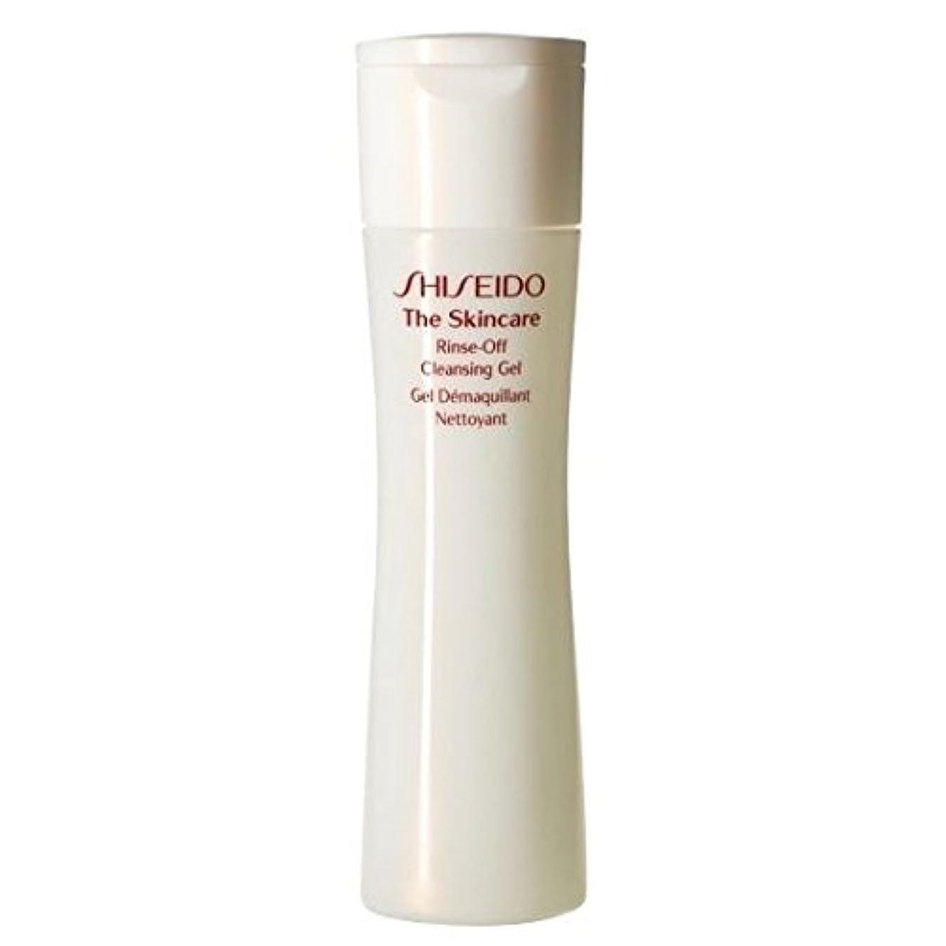 本物有望単語[Shiseido] スキンケアリンスオフクレンジングジェル、200ミリリットルを資生堂 - Shiseido The Skincare Rinse-Off Cleansing Gel, 200ml [並行輸入品]