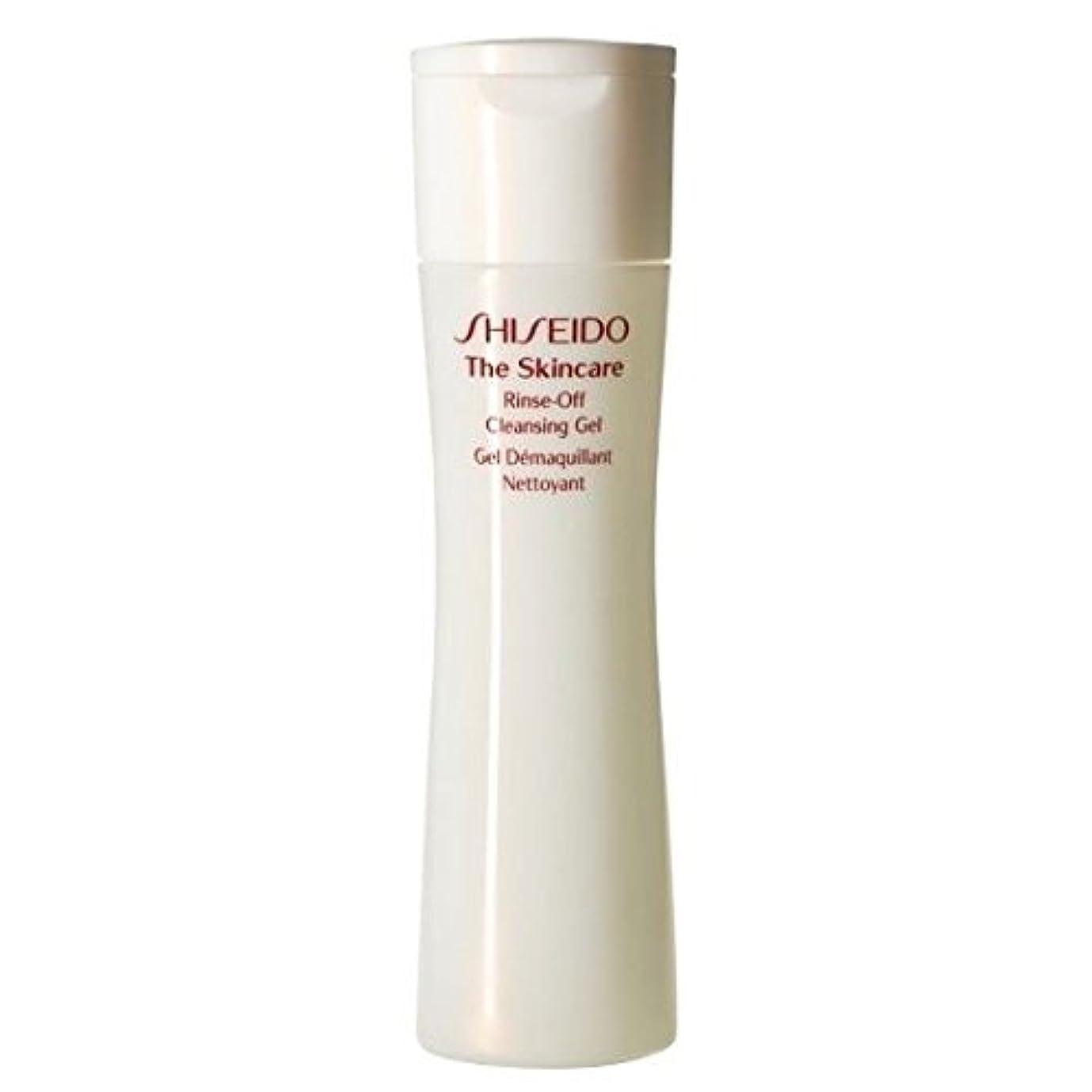 それに応じて芸術テレマコス[Shiseido] スキンケアリンスオフクレンジングジェル、200ミリリットルを資生堂 - Shiseido The Skincare Rinse-Off Cleansing Gel, 200ml [並行輸入品]