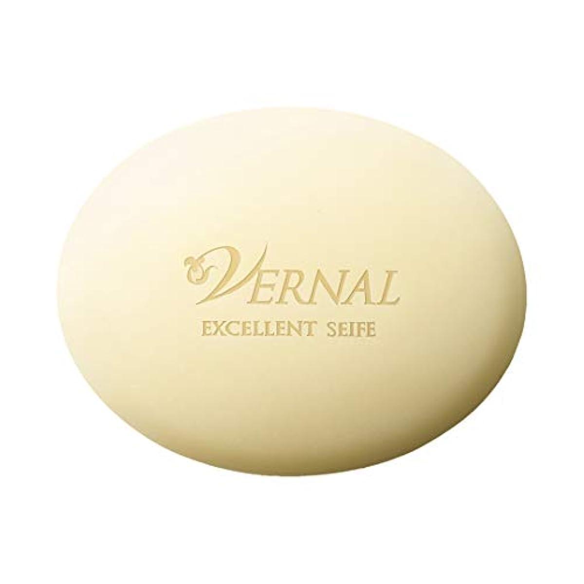 飾り羽白鳥意味エクセレントザイフ110g/ヴァーナル 洗顔石鹸 仕上げ洗顔