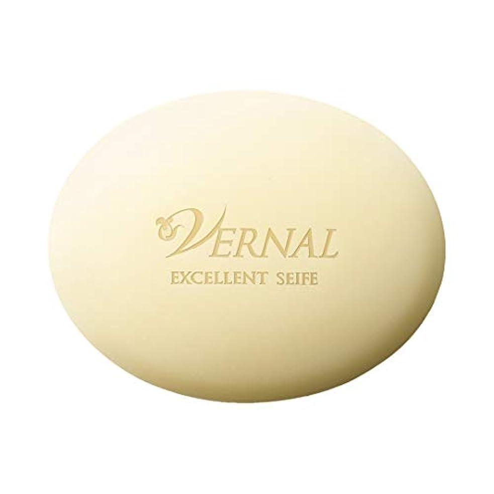 伝染性強調する簿記係エクセレントザイフ110g/ヴァーナル 洗顔石鹸 仕上げ洗顔