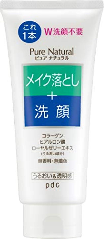 後方にパイント熟練したPure NATURAL(ピュアナチュラル) クレンジング洗顔 170g