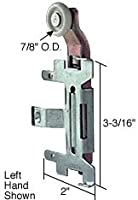 "C.R. LAURENCE N6552 CRL 7/8"" Nylon Bi-Pass Wardrobe Roller for Cox C.R. Laurence [並行輸入品]"