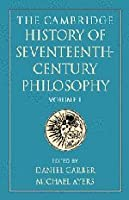 The Cambridge History of Seventeenth-Century Philosophy 2 Volume Paperback Set by Unknown(2003-05-05)