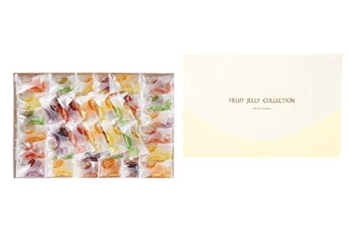 彩果の宝石 フルーツゼリーコレクション (92個入り) 国産もち米あられ1個セット