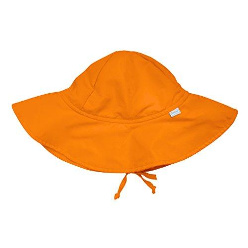 アイプレイ iplay 帽子 サンハット UVカット あごひも付 ベビー キッズ 帽子 INFANT:9-18ヵ月 オレンジ
