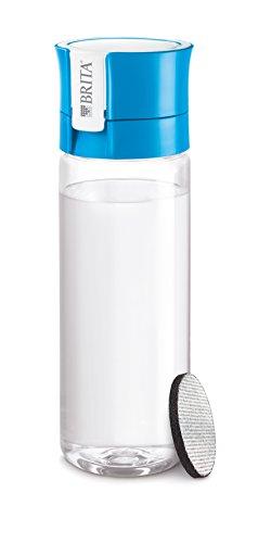 BRITA ブリタ 水筒 直飲み 600ml 携帯用 浄水器 ボトル カートリッジ 1個付き フィル&ゴー ブルー 【日本仕様・日本正規品】 fill & go