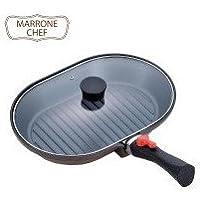 MARRONE CHEF(マローネシェフ) IH対応 着脱式ハンドル オーバルパン MM-9546