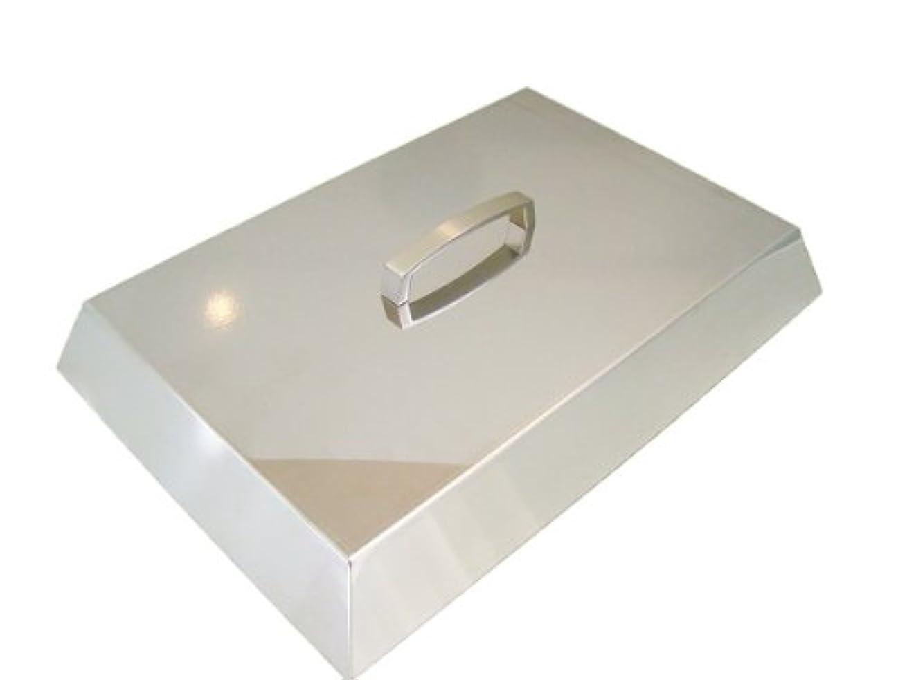 彫刻家キラウエア山流用するバーベキュー 蒸し焼き蓋 【L】 260 x 380 (取っ手:金属)