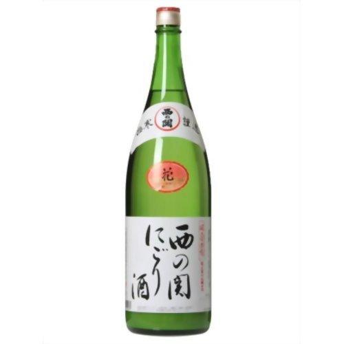 西の関 にごり酒 1.8L
