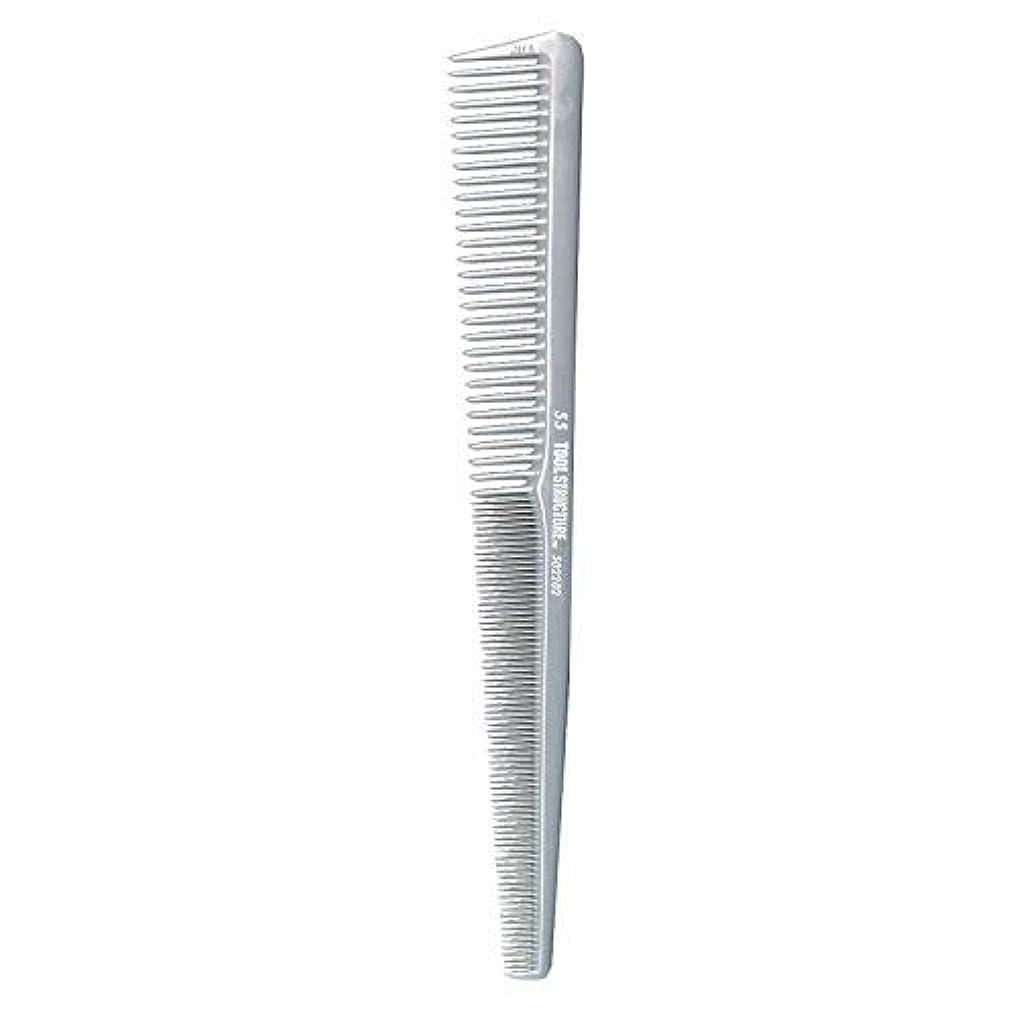 著作権フェンス満了Tool Structure Barber Comb #55 [並行輸入品]