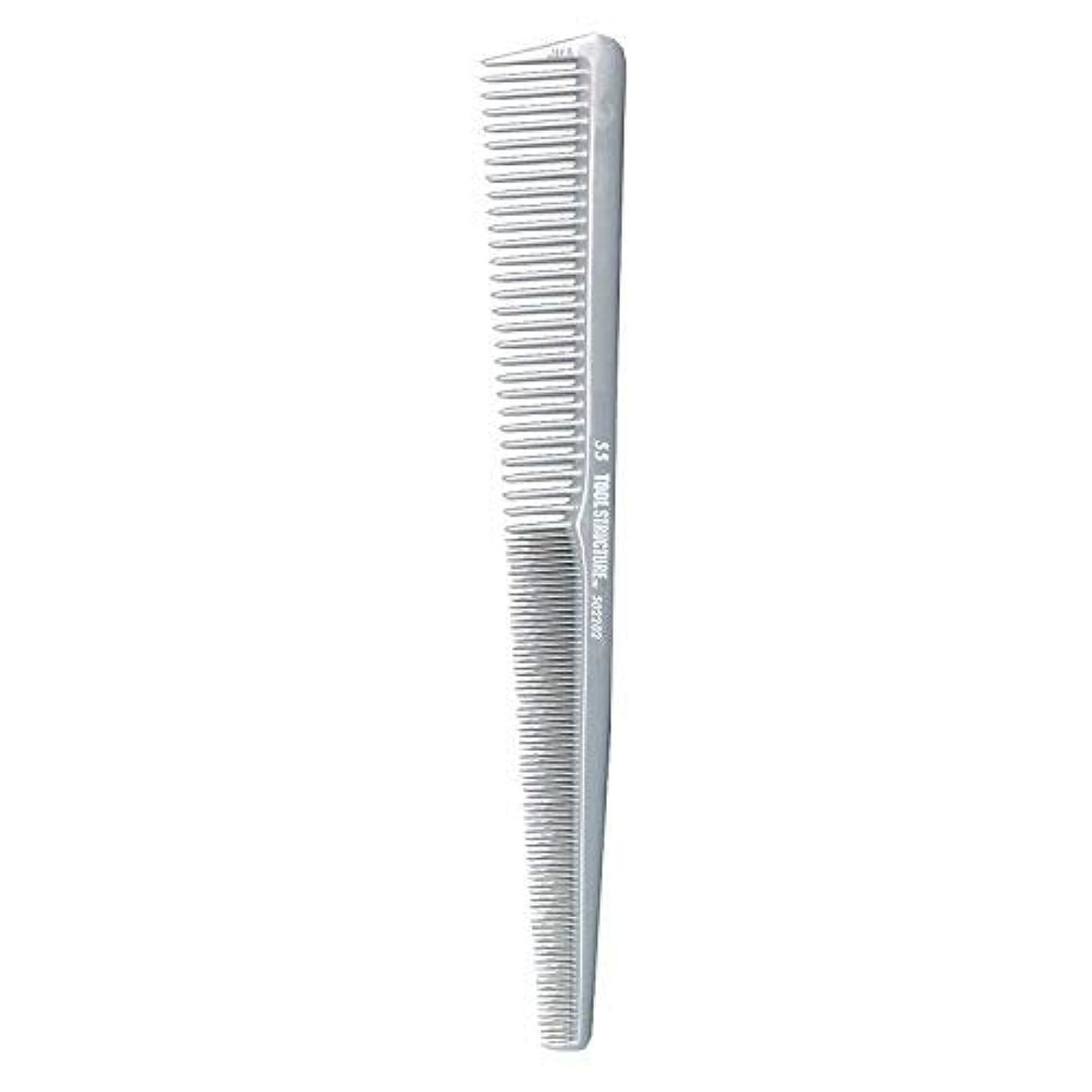 アミューズメント閲覧する無傷Tool Structure Barber Comb #55 [並行輸入品]