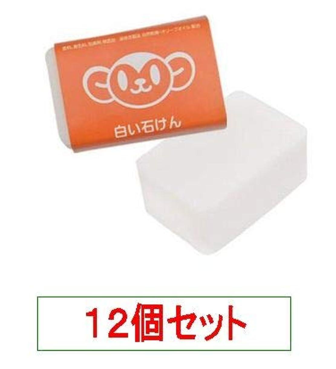 ドローおとうさんラップハイム むーくんシリーズ 白い石けん 120g<無添加の洗顔、入浴用>X12個セット