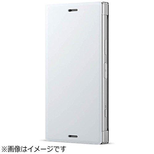 1a6f6a9a38 ソニー純正 国内正規品 Xperia XZ1 Compact SO-02K ケース/カバー 手帳型 スタンド機能付きスタイルカバースタンド Style  Cover Stand ホワイト エクスペリア XZ1 ...