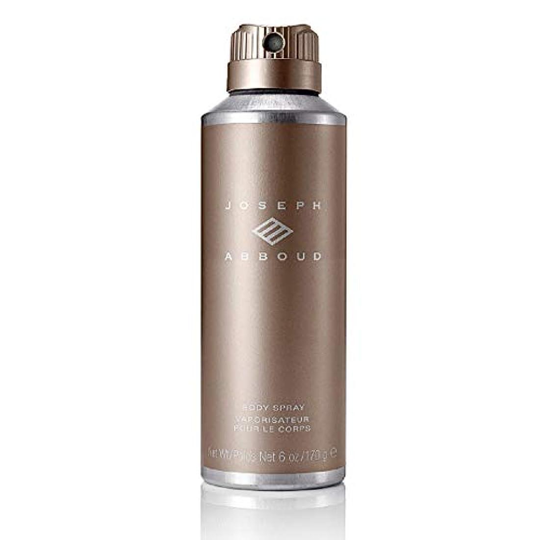 Joseph Abboud ボディスプレー - 男性のための洗練された、官能的なフレグランス香水 - 大胆な男性の香り - フレッシュシトラス。竹、ラベンダー、ゼラニウム、セージ - 6オズ