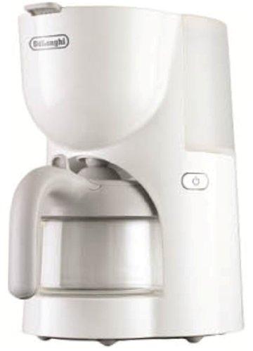 デロンギ トゥルーシリーズ ドリップコーヒーメーカー <紙フィルター不要> 4杯 ホワイト CM200J-WH
