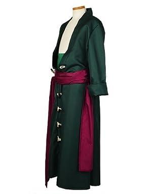 コスプレ衣装 コスプレチューム ONE PIECE 二年後 ロロノア・ゾロ(海賊狩りのゾロ)風 サイズ指定可cyf0499