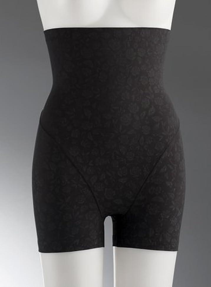円周骨折ラップ【ポアンジュ】   温クロッチベリー(ハイウェストショーツ)  3サイズ?カラー黒 (?Mサイズ(ヒップ87~95センチ))