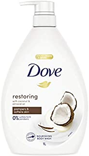 Dove Body Wash Restoring Coconut & Almond Oil