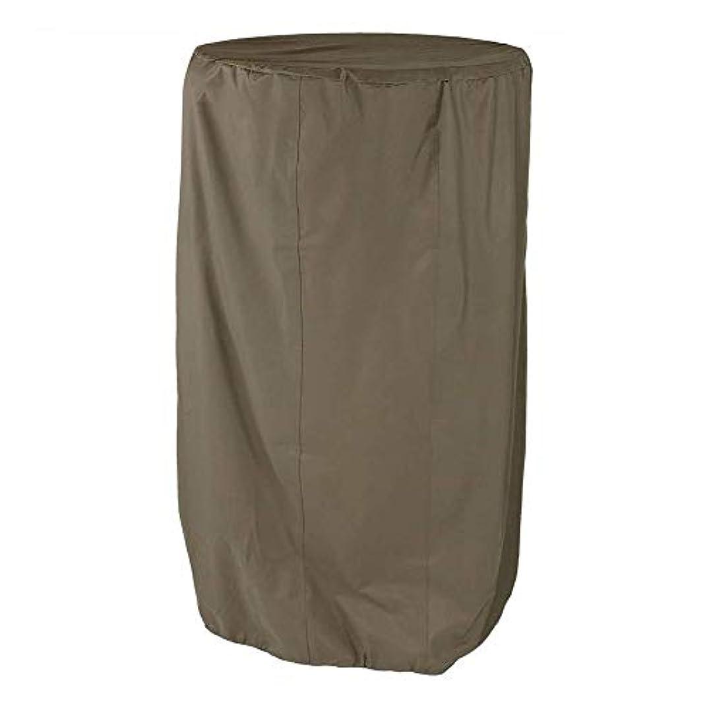 精神的に哀れな限られたZEMIN 庭園 家具 カバー ターポリンタープ 噴水 屋外の 冬 保護 耐候性 オックスフォード布 (色 : カーキ, サイズ さいず : 80x150cm)