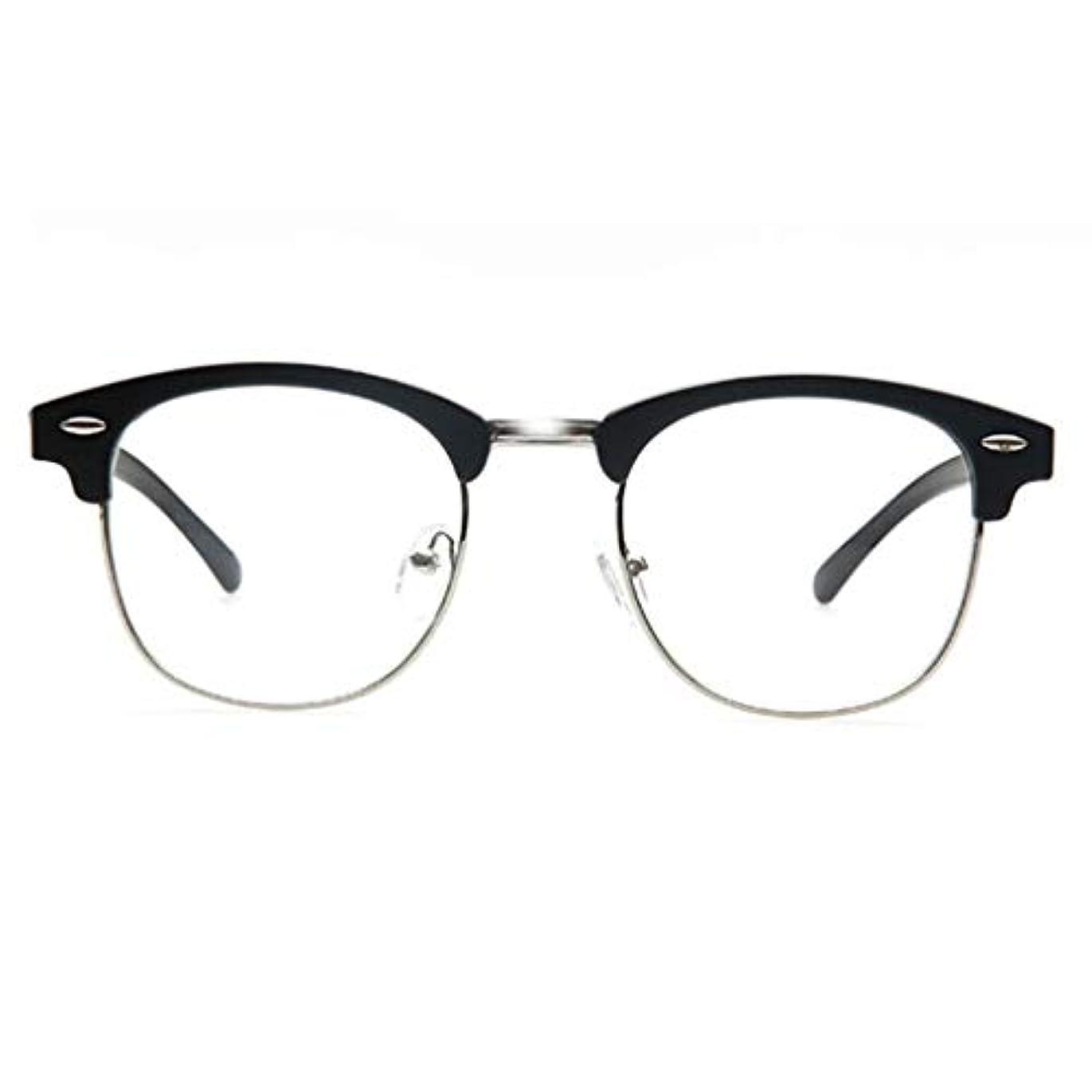 男性用および女性用老眼鏡高透明樹脂レンズ、ヒンジ、快適なカードリーダーメタル、サンリーダーを含む男性用および女性用ラウンドリーダー