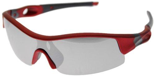 VAXPOT(バックスポット) サングラス 偏光レンズ RED【LENS:SILVER MIRROR】 EG-3990