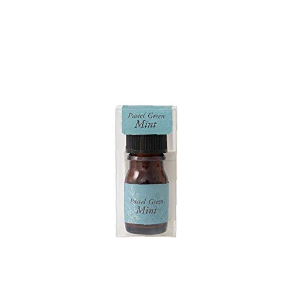 ダッシュ口頭着服生活の木 ブレンド精油 パステルグリーンミント 5ml