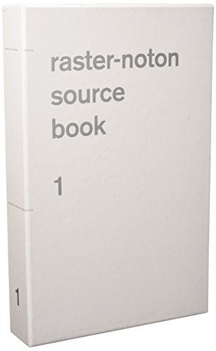 Raster-Noton Source Book 1