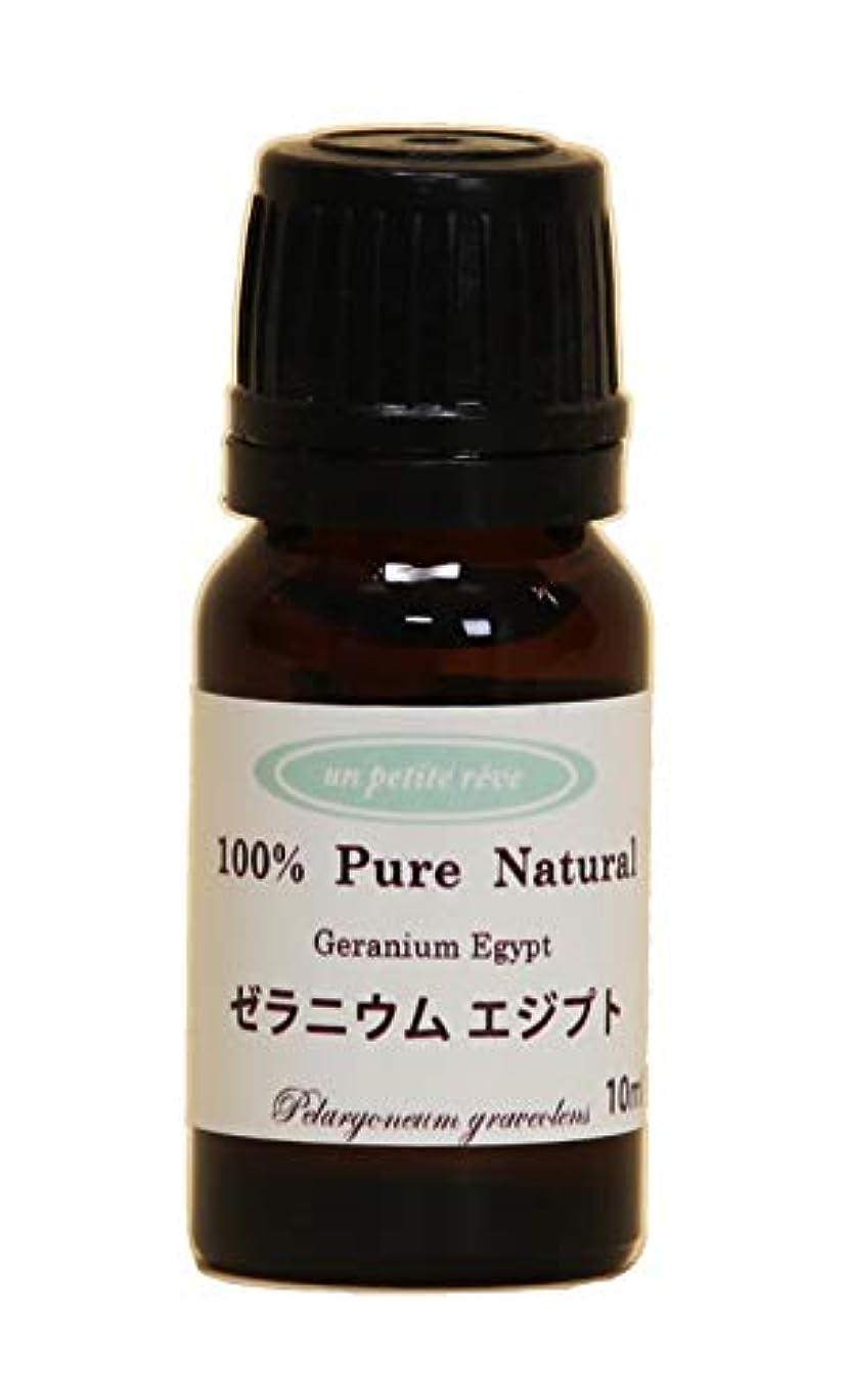 掃くチョーク振り向くゼラニウムエジプト 10ml 100%天然アロマエッセンシャルオイル(精油)