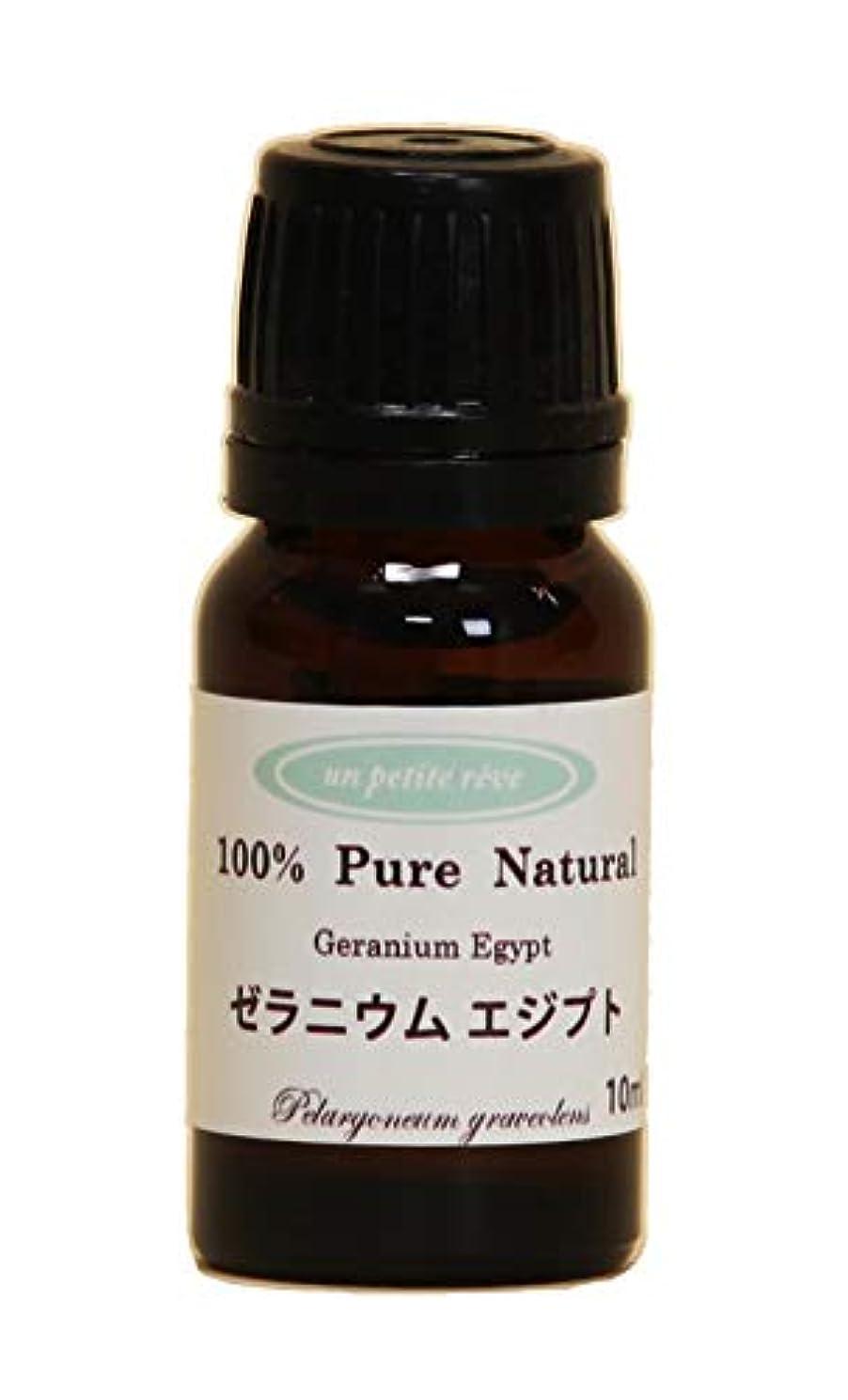 剃る代わりの欠乏ゼラニウムエジプト 10ml 100%天然アロマエッセンシャルオイル(精油)