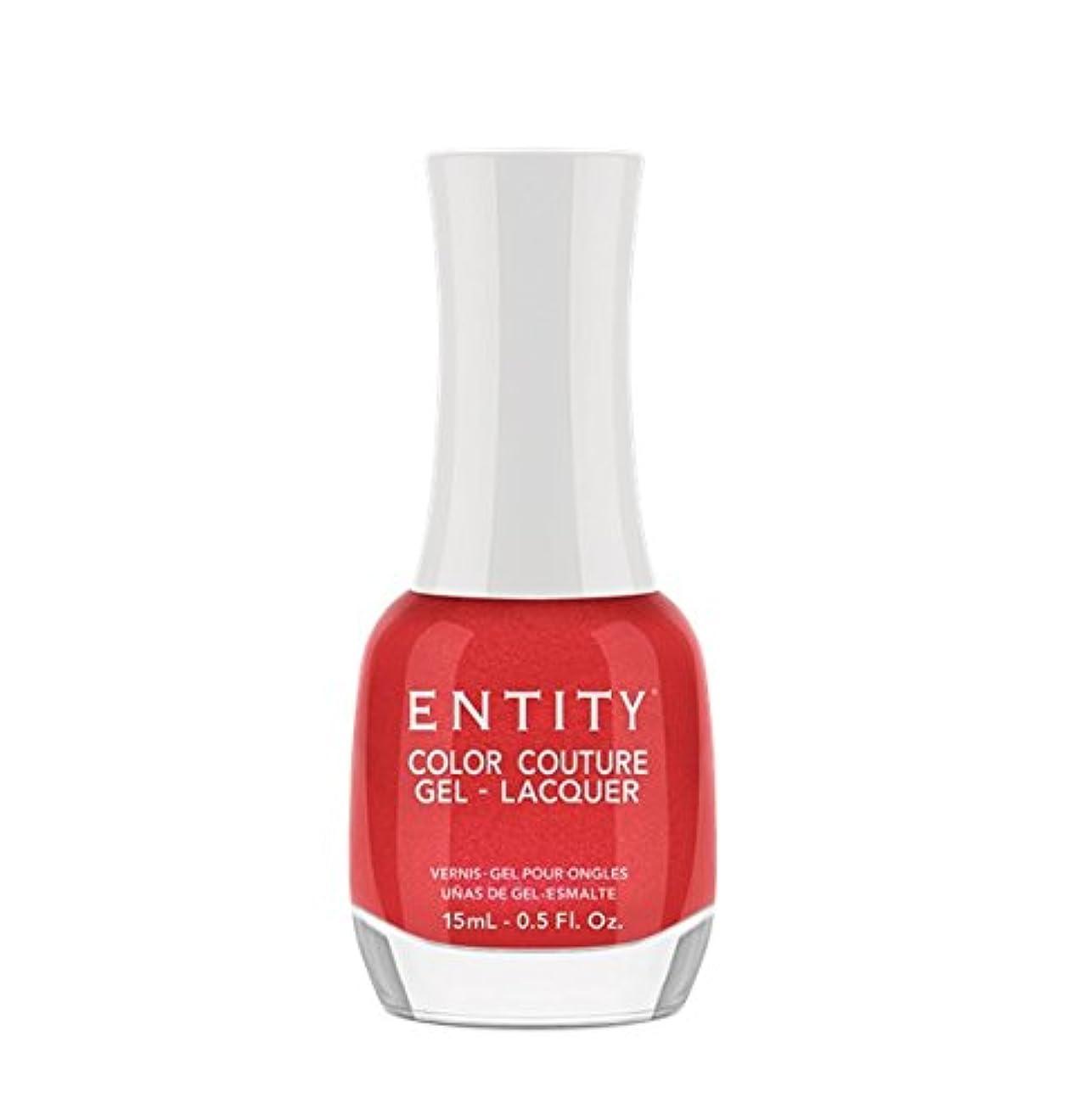 リテラシー過敏な平和なEntity Color Couture Gel-Lacquer - Red Rum Rouge - 15 ml/0.5 oz