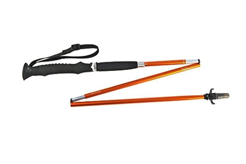 失われた高度落胆するSNOWLINE Stealth Slim Trekker's Pole, 120mm, Orange