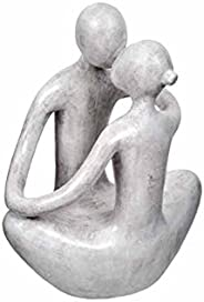 Amalfi How I Love Thee Sculpture, 24.5cm CRM