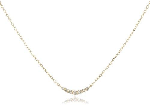 [アガット] agete K10ダイヤモンドネックレス