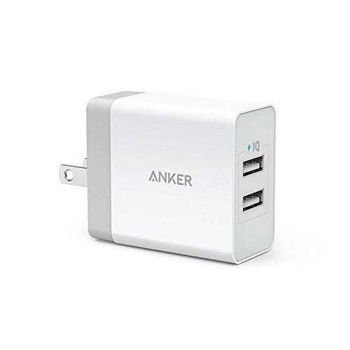 Anker 24W 2ポート USB急速充電器 【急速充電 / iPhone...