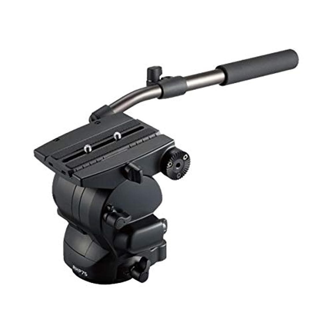 到着する味わう抵抗力があるLibec ビデオカメラ用雲台 RS Plus 2WAY雲台 アルミ RHP75