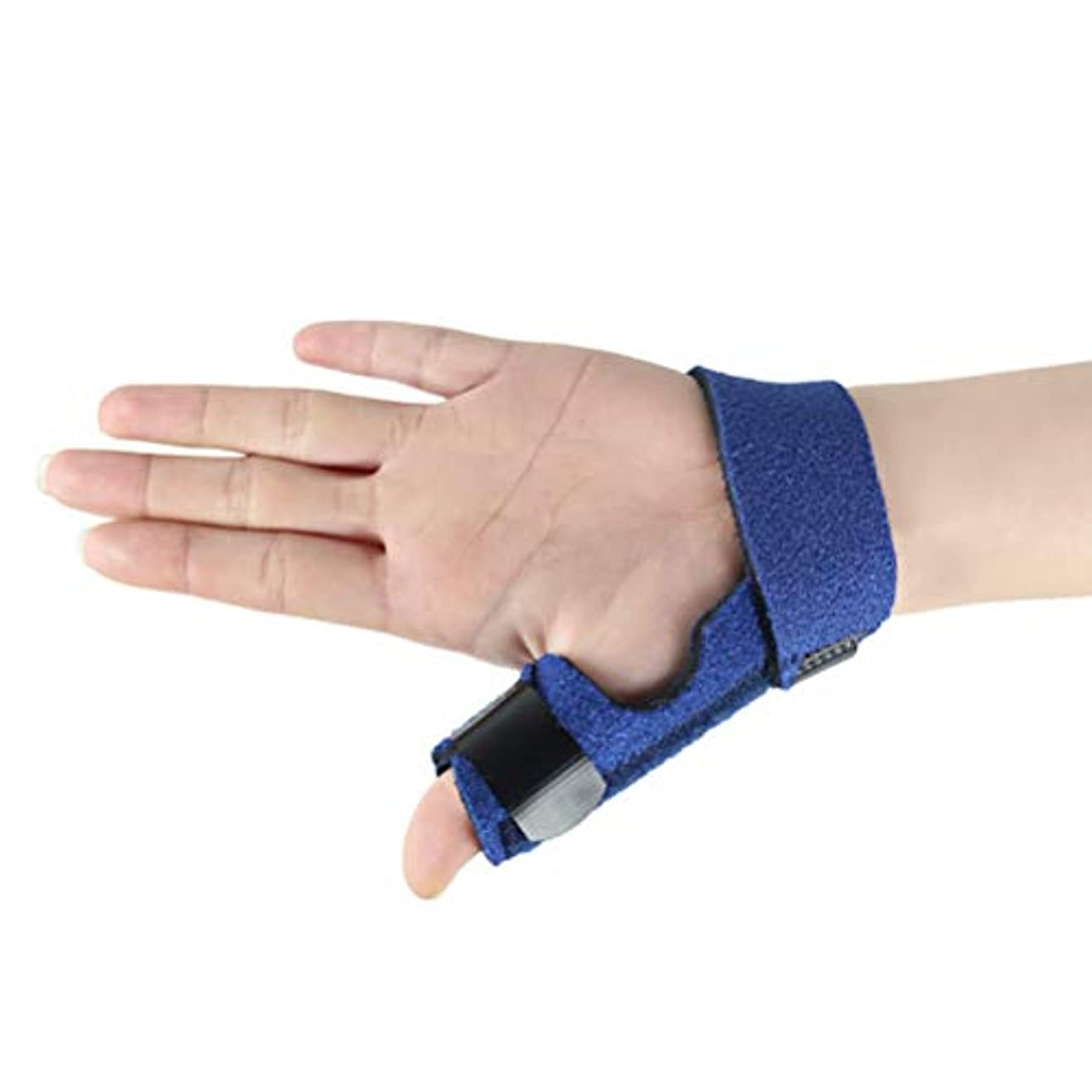 醸造所履歴書漏斗Heallily指修正サポートブレース骨折指固定ベルト指矯正プロテクタースプリント(右手)
