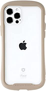 iFace Reflection iPhone 12/12 Pro 手機殼 透明 鋼化玻璃 iPhone2020 6.1英寸 [米色]