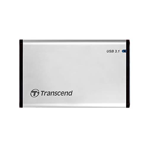 Transcend StoreJet 25S3 USB3.0 アルミニウム製SSD/HDDケースTS0GSJ25S3
