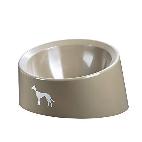 Hunter メラミンボウル ピュア ベージュ 350ml 犬 ペット用 傾斜 食器 フード ボウル エサ入れ Pure (92292)