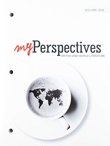 Download Myperspectives English Language Arts 2017 Student Edition Volumes 1 & 2 Grade 12 0133339556