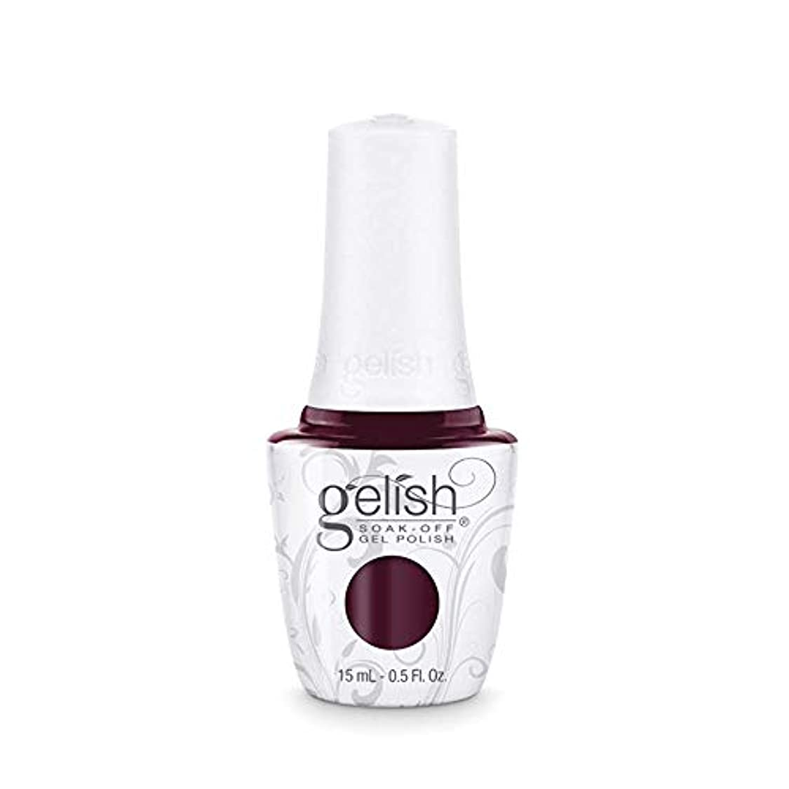 些細な獲物指紋Harmony Gelish Gel Polish - Black Cherry Berry - 0.5oz / 15ml