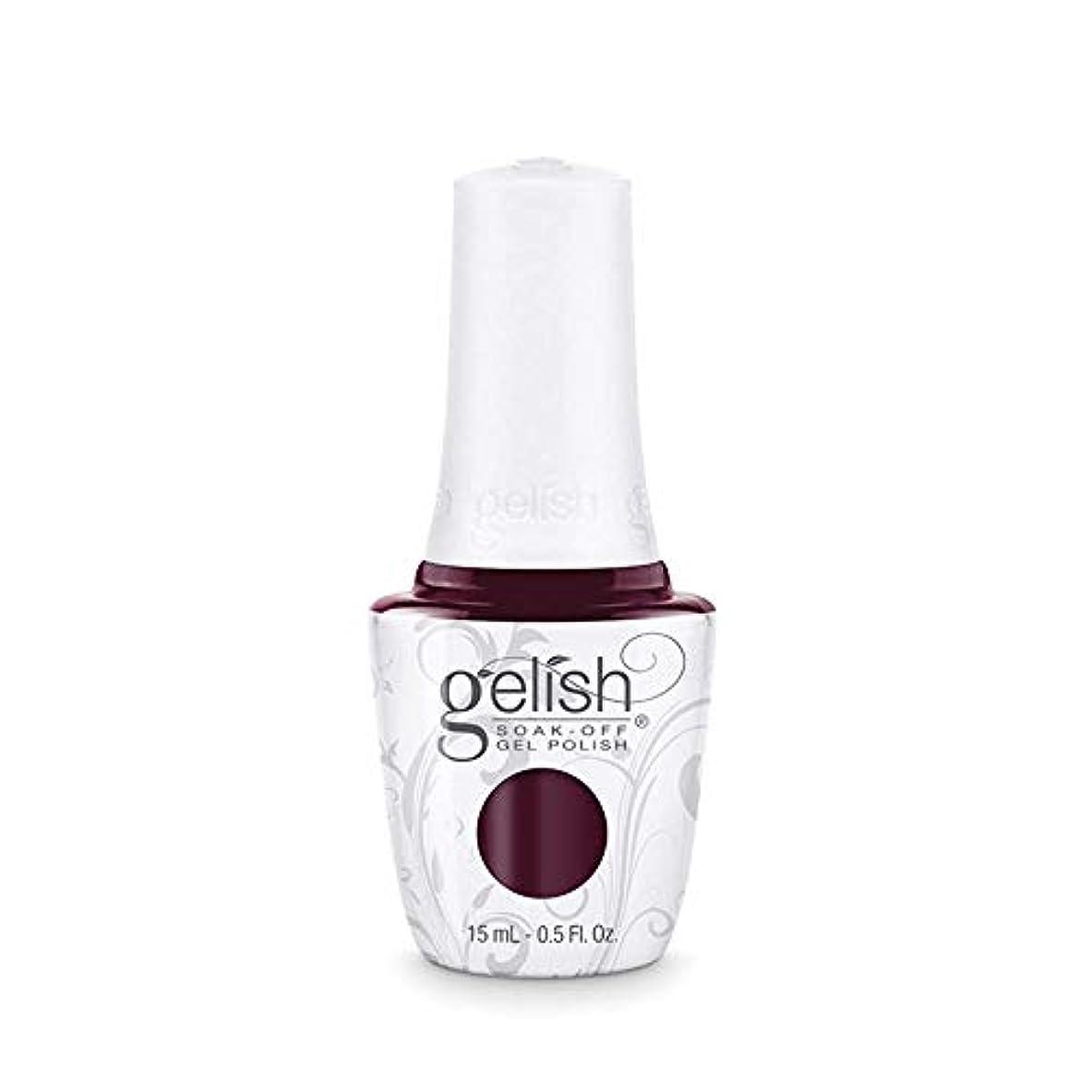 Harmony Gelish Gel Polish - Black Cherry Berry - 0.5oz / 15ml