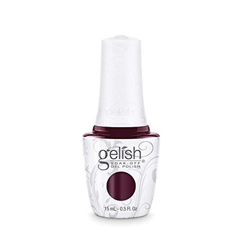 がっかりした下向き消費するHarmony Gelish Gel Polish - Black Cherry Berry - 0.5oz / 15ml
