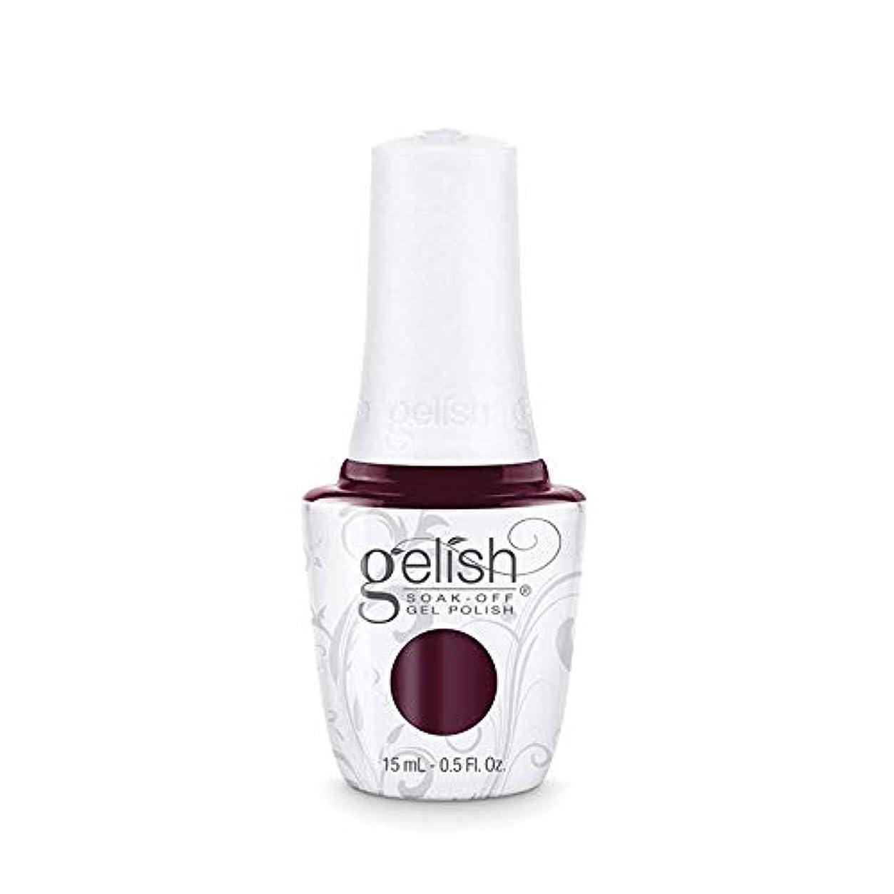 州買収またねHarmony Gelish Gel Polish - Black Cherry Berry - 0.5oz / 15ml