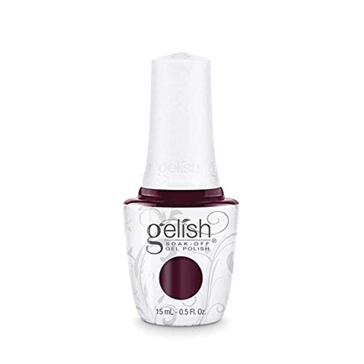 インペリアルオーバーコートスーパーHarmony Gelish Gel Polish - Black Cherry Berry - 0.5oz / 15ml