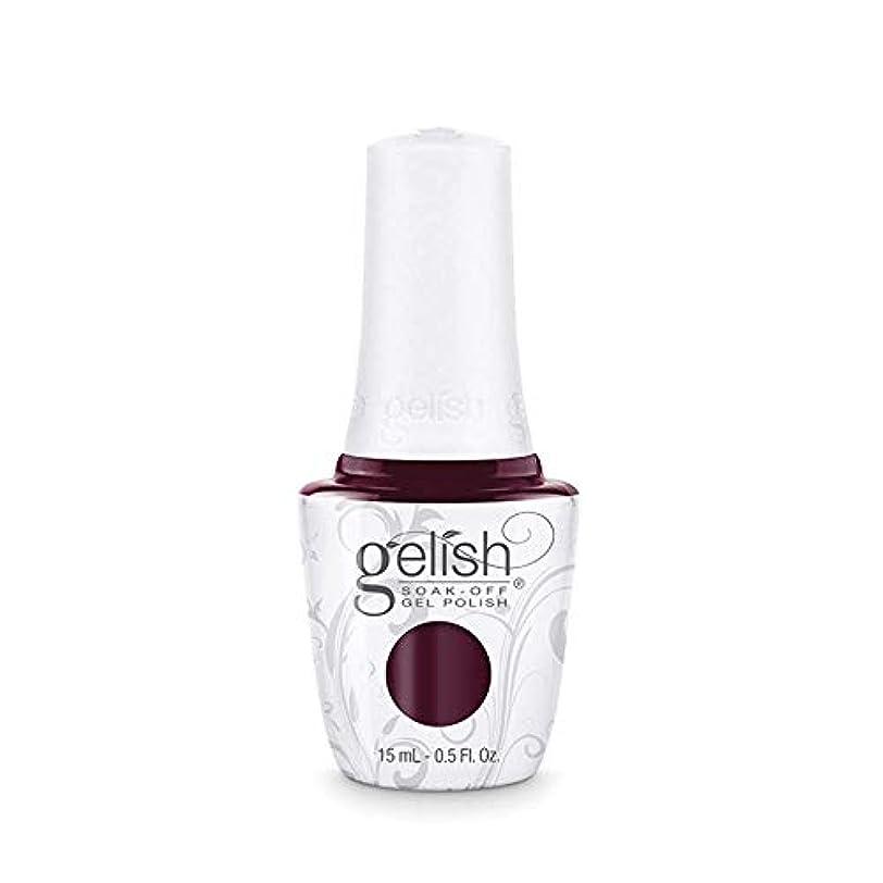 はがき鼻飾るHarmony Gelish Gel Polish - Black Cherry Berry - 0.5oz / 15ml