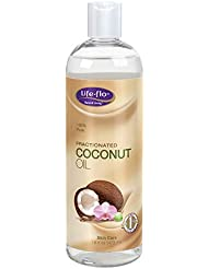 海外直送品Fractionated Coconut Oil, 16 oz by Life-Flo